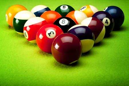 snooker balls: Billard!