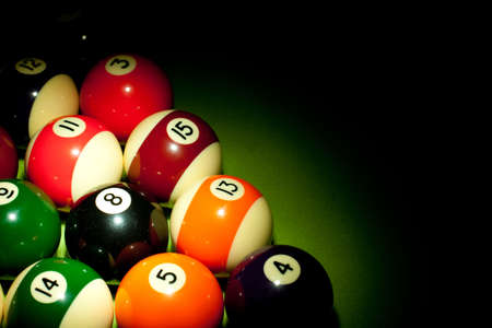 poolball: billard concept Stock Photo