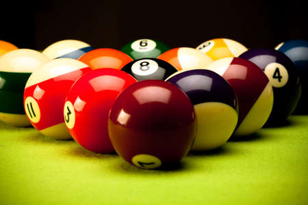 eightball: Billard
