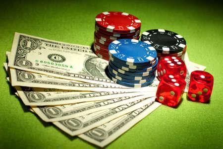fichas casino: Concepto de juegos de Casino