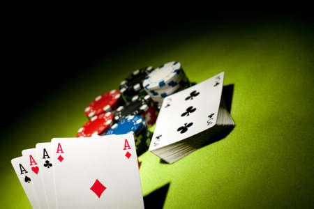 Juegos de Casino  Foto de archivo - 6926290