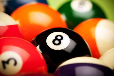 poolball: Billard game concept
