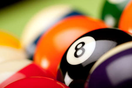 eightball: Billard game concept