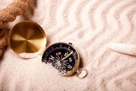 beach mat: Lost in sand