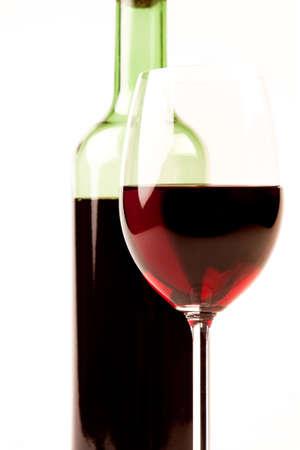 Wine on white Stock Photo - 7122310