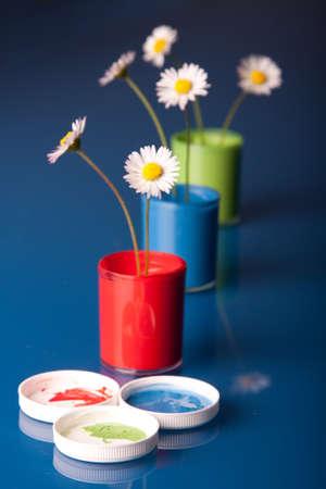 Flower paints photo