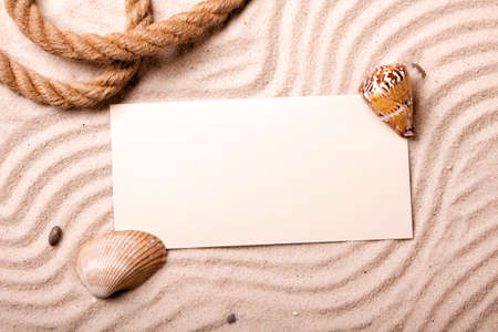 Sand, shells and more! Best Holidays Stock Photo - 7122563