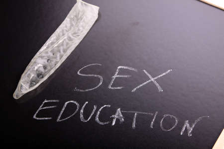 sex education: sex education Stock Photo
