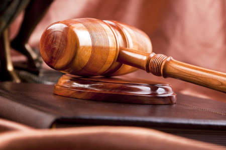 mallet and law Stock Photo - 7201679