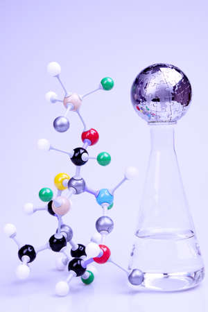 Molecules and world photo
