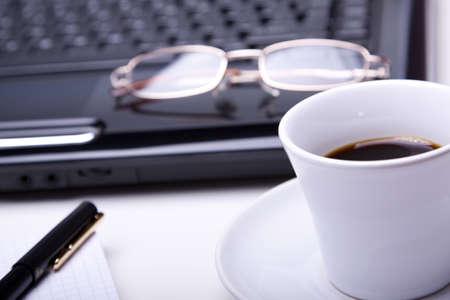 Morning coffee photo