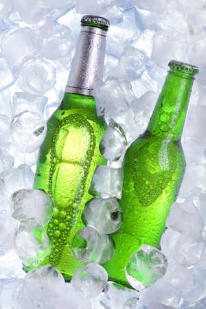 Chilled beer! Stock Photo - 7683810