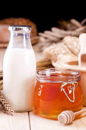 milk product: Good breakfast!