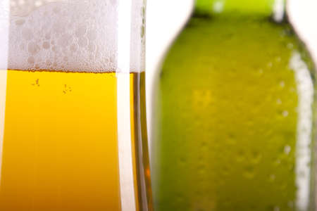chilled: chilled beer