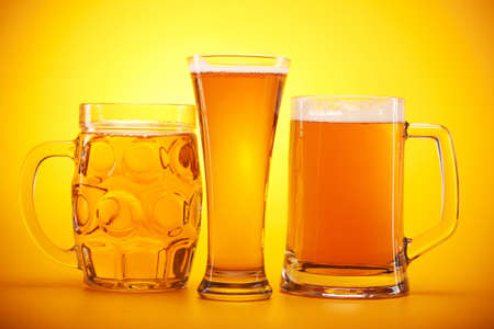 Chilled beer! Stock Photo