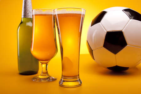 chilled: Chilled sport beer! Stock Photo