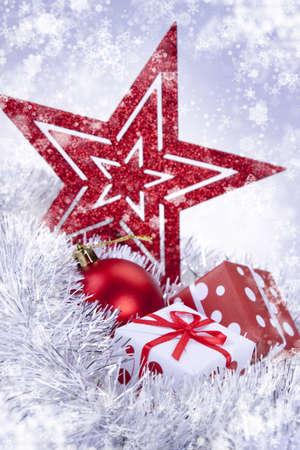 Christmas background Stock Photo - 8230846