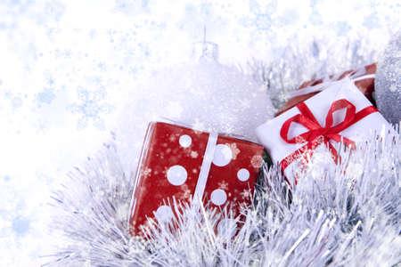 Christmas background Stock Photo - 8230803