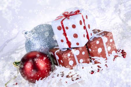 Christmas background Stock Photo - 8230808