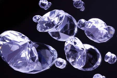 Diamonds in mirror Stock Photo - 8613145