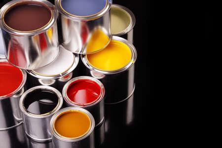 Paint cans! photo