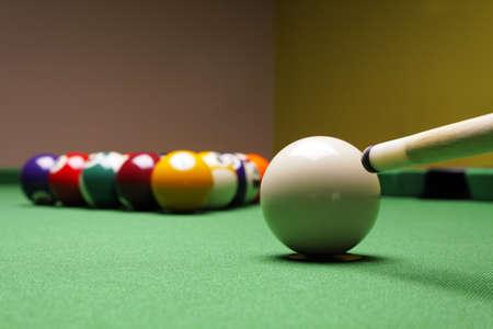 8 ball billiards: Billiard!