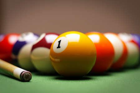 pool bola: Tiempo de billar!