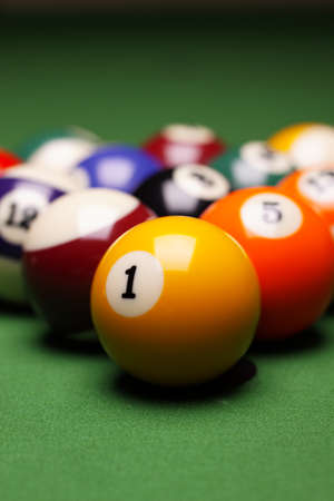 snooker cue: Billiard time!