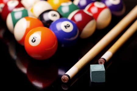 snooker cue: Billiard!