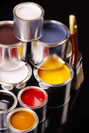 Paint cans! photo