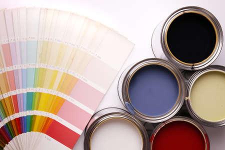 Paint cans!