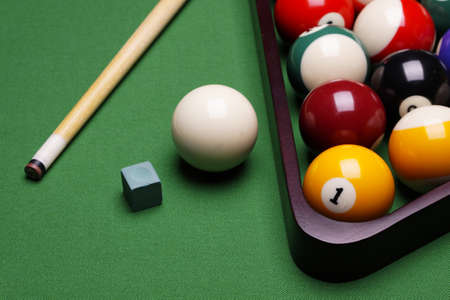 pool balls: Billiard time!