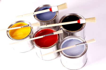 Painting home Stock Photo - 8701160
