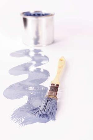 pintura derramada: Pintura derramado