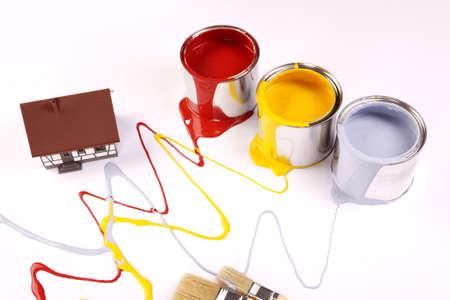 spilling: Spilling paint!
