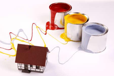 Spilling paint! photo