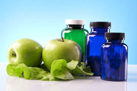 Voedingssupplementen Stockfoto