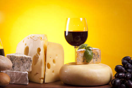 Cheese composition Stock Photo - 10127519