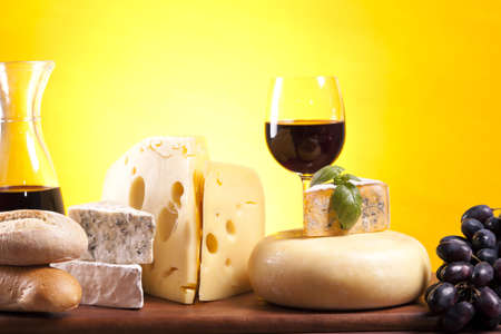 Cheese composition Stock Photo - 10127516