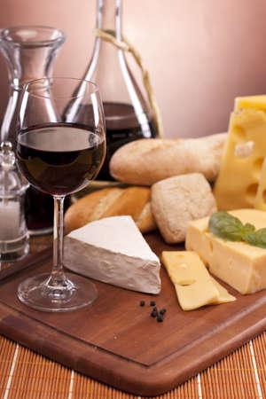 tabla de queso: Composici�n de queso Foto de archivo