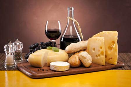 queso: Composici�n de queso Foto de archivo