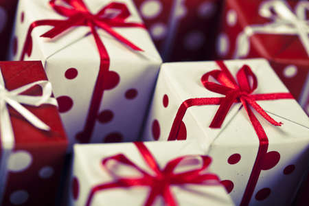 Christmas Decoration, baubles and gifts! Stock Photo - 10792062
