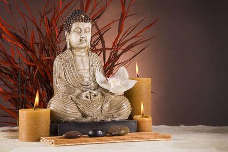 Boeddha close-up, religie concept Stockfoto