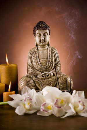 Buddha closeup photo
