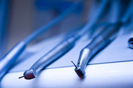 Tandartspraktijk en apparatuur Stockfoto
