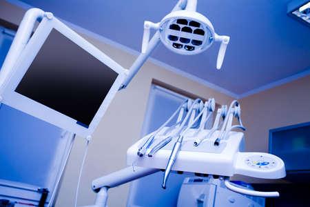 Zahnarztpraxis und Ausrüstung