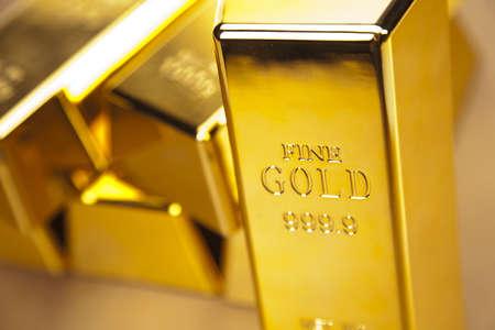 gold bars:  gold bars, studio shots, closeup