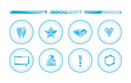 interjection: Diamond icons