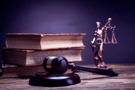 Mallet di giustizia! Archivio Fotografico