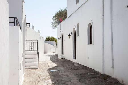 lindos: Ancien town lindos, streets